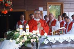 Rekolekcje RRN diecezji zachodnich w Jastarni - spotkanie z bp Andrzejem Siemieniewskim